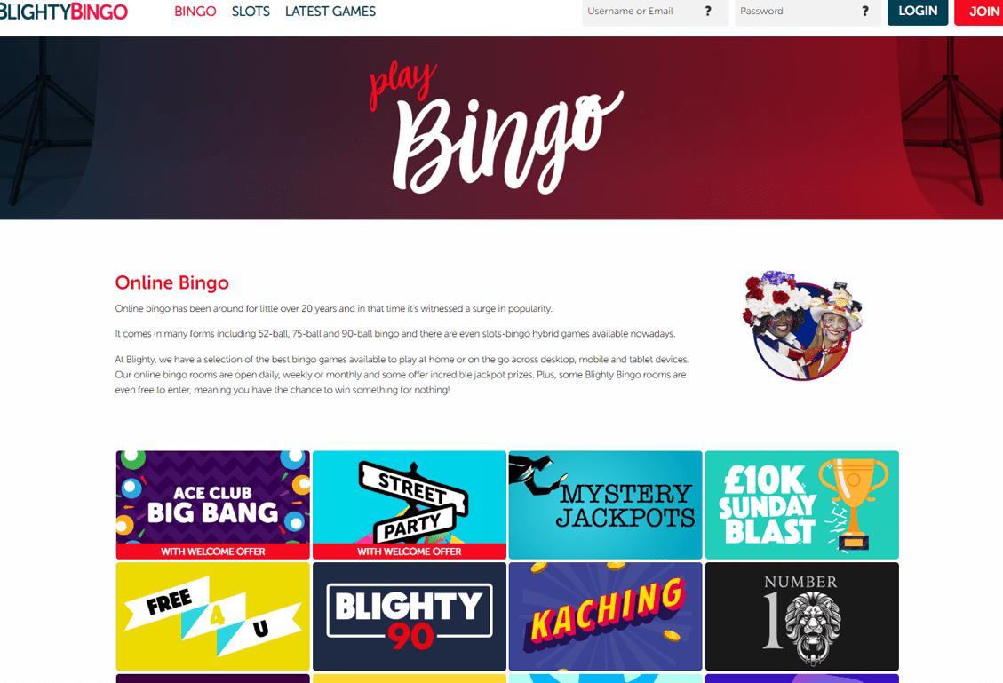 Blighty Bingo Screenshot