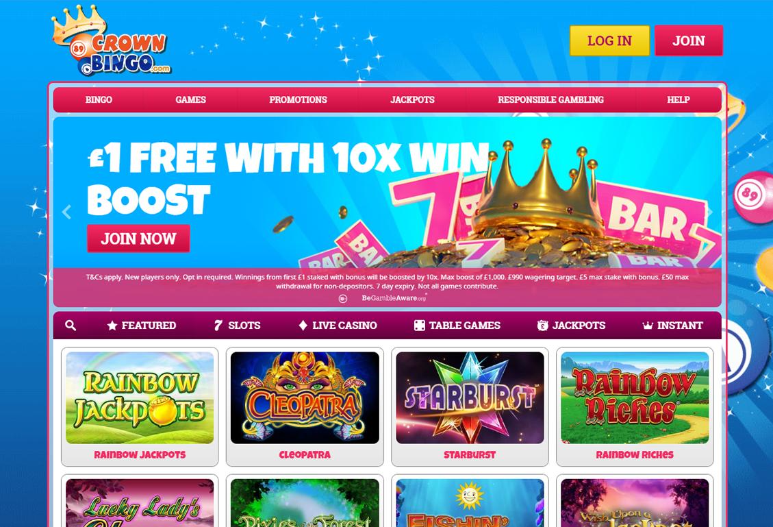 Crown Bingo Screenshot