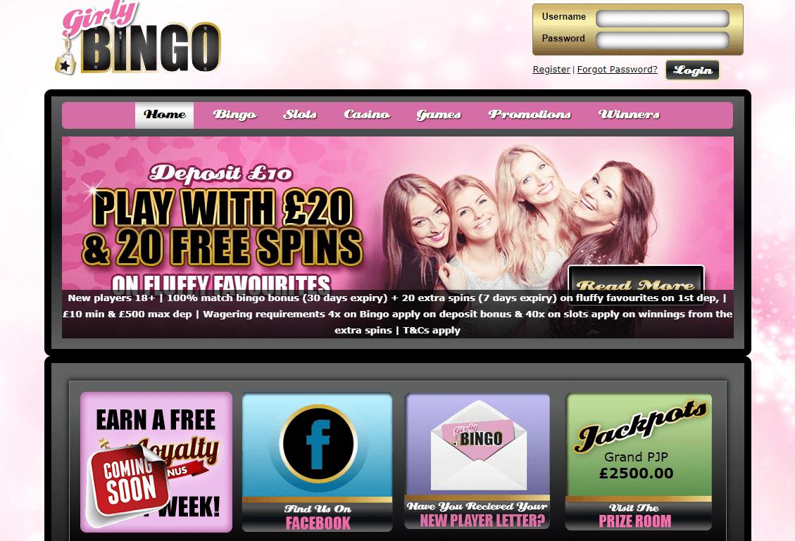 Girly Bingo Screenshot