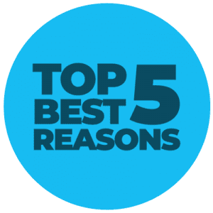 Top 5 best reasons to play at a no deposit bingo site