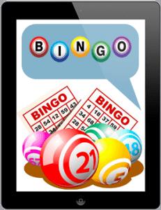 Bingo on tablet and mobile